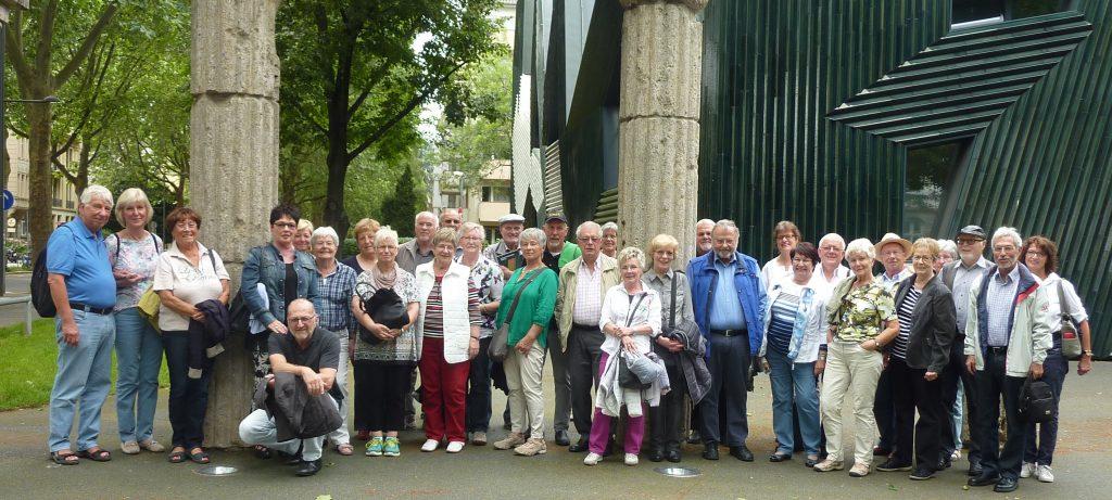 Besuch der Synagoge Juni 2016