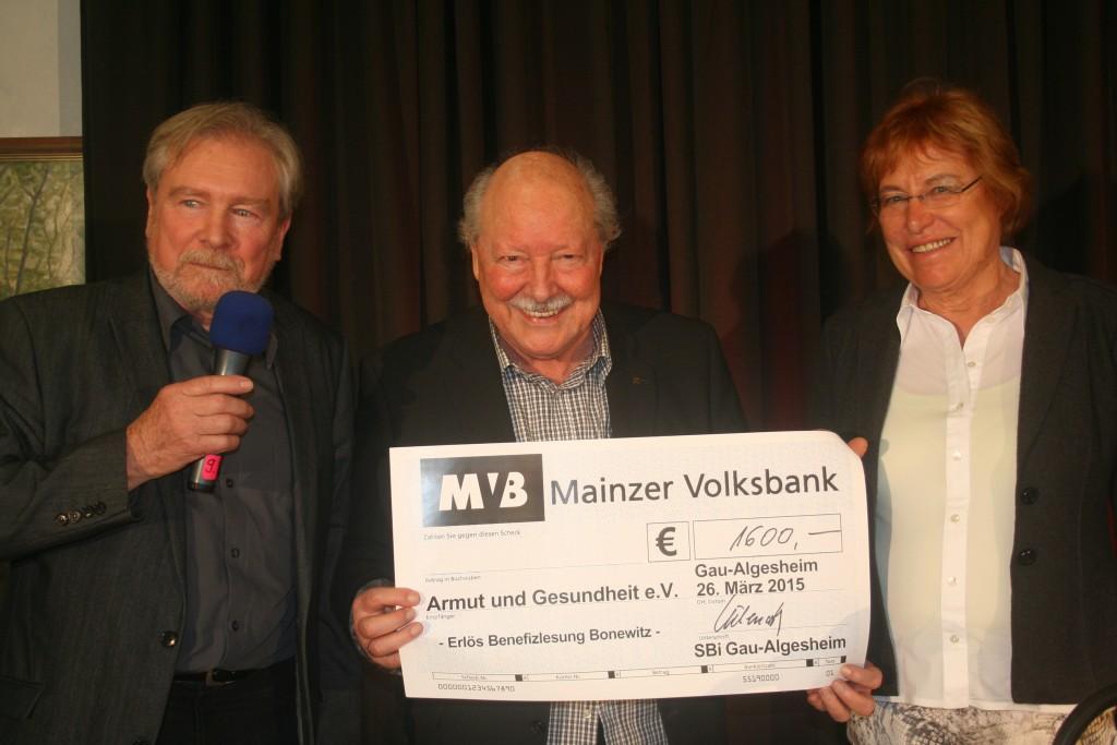 Herbert Bonewitz bei der SBi Gau-Algesheim