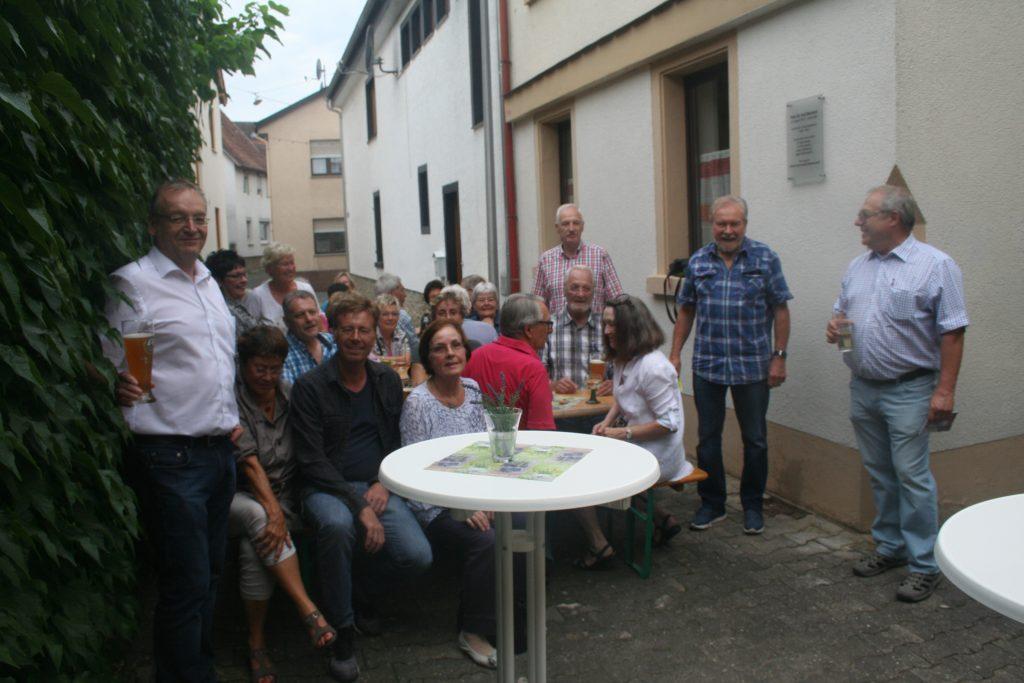 Sommerliches Treffen der Sozialdemokraten in Gau-Algesheim