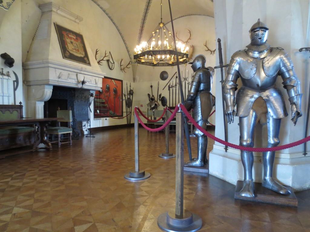 Rittersaal nach historischem Vorbild