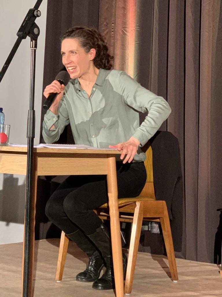 Christine Prayon zu Gast bei der SBi Gau-Algesheim