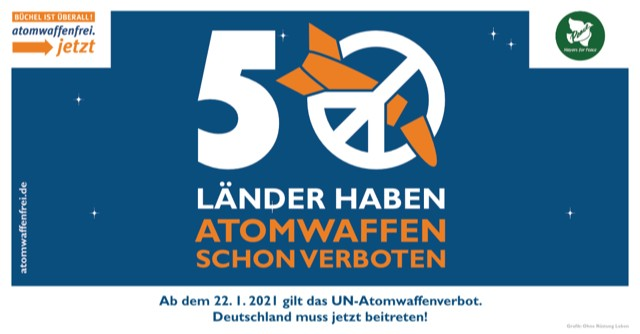 Plakat Atomwaffenverbot
